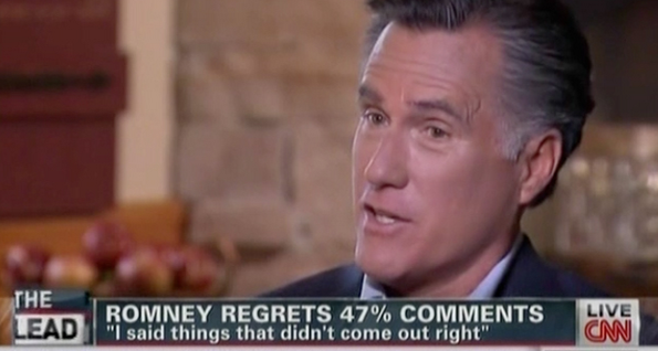 Mitt Romney to CNN: I Wish Hurricane Sandy Hadn't Hit a Week Before the Election (VIDEO)