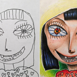 LOOK: Artistic dad colors his kids' drawings and the results are awesome
