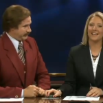 WATCH: Will Ferrell co-anchored an entire actual newscast as Ron Burgundy, and it was brilliant