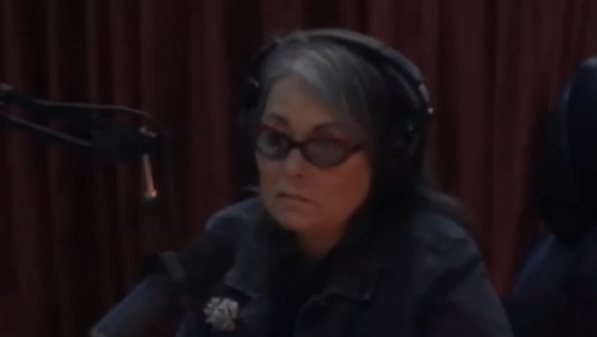 Roseanne Barr talks about 'chemtrails' on Joe Rogan's podcast, epic