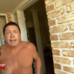 Watch this con man 'pastor' go absolutely ballistic when a news crew confronts him at his home