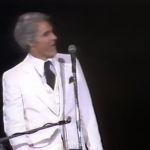 During a concert in 1979, Steve Martin delivered the greatest punch line in comedy history (NSFW)