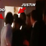 VIDEO: Orlando Bloom throws a punch at Justin Bieber, crowd cheers when Bieber flees