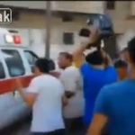 Video emerges allegedly showing Israeli airstrike on ambulances, journalists and civilians