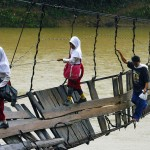 Here are 12 of the most dangerous journeys to school that kids actually have to make