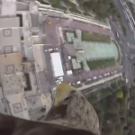 Watch this breathtaking bird's-eye view of an eagle soaring over Paris at 111-mph