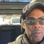 Chris Rock takes a selfie each time a cop pulls him over for 'driving while black'