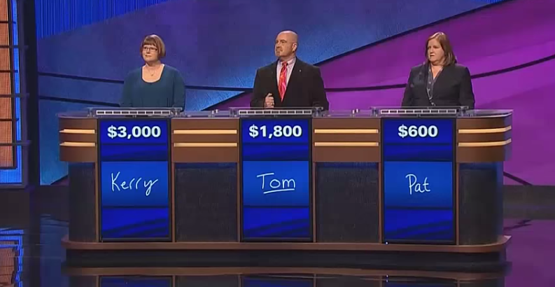 Jeopardy contestant gives the most horribly awkward answer