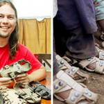 A Shoe That Grows: Man invents sandal that grows 5 sizes in 5 years, helping millions of children