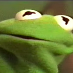 Kermit the Frog is alive and well and living in a Costa Rican jungle.
