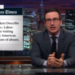 John Oliver destroys The Gap, Walmart, and other retailers for using child sweatshop labor