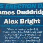 British politician finds out that it's important to always proofread your campaign posters