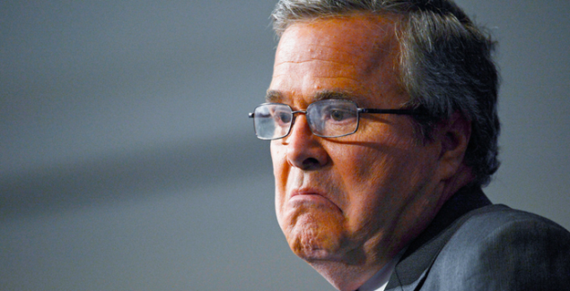 Jeb Bush chagrined