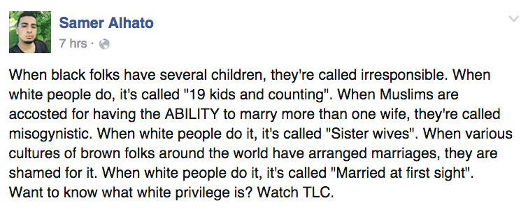 Facebook Post Shows How Tlc Is The Perfect Example Of White
