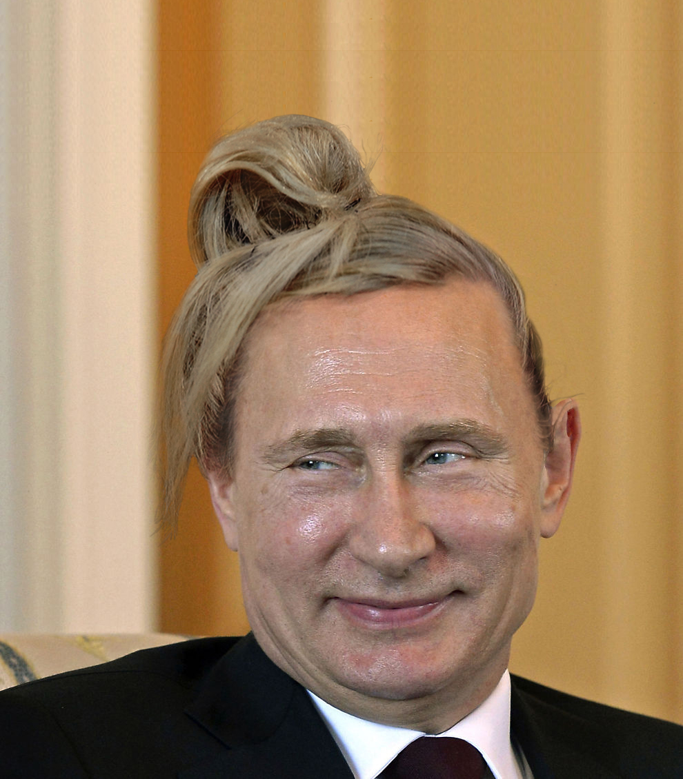 'World Leaders With Man Buns' is why Photoshop was