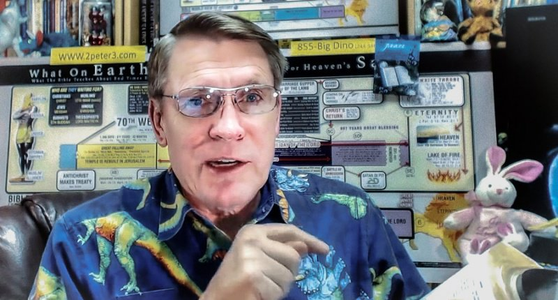 "reationism evangelist Kent Hovind asserted this week that God had purposefully put contradictions in the Bible to ""weed out"" non-believers."