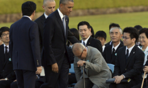 deadstate Obama in Hiroshima