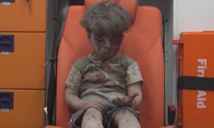 deadstate Syrian boy