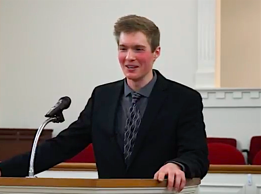 22-year-old Christian preacher clarifies that he wants gays executed 'humanely'