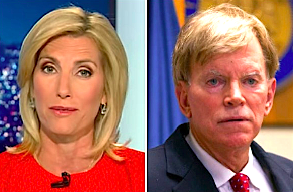 Laura Ingraham's Fox News rant gave David Duke and other white supremacists a massive hard-on