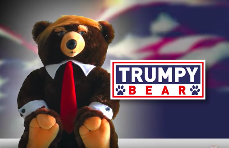 'Trumpy Bear' is real, not a joke, and costs 40 fucking dollars