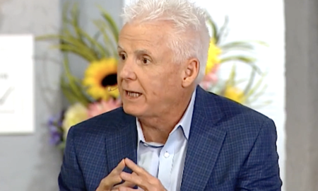 Right-wing pastor Robert Henderson explains to Jim Bakker that anyone who opposes Trump is by default in opposition to God.