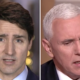 Justin Trudeau says he will bring up the subject of abortion bans when he meets with Mike Pence this week.