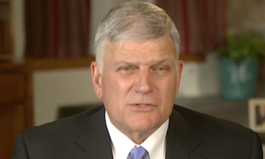 Franklin Graham warns that a civil war could break out if Trump is impeached.