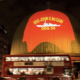 London activists needle Trump with an image of the USS John McCain projected onto a London landmark