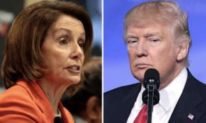 Nancy Pelosi says she wants to see Trump in prison.