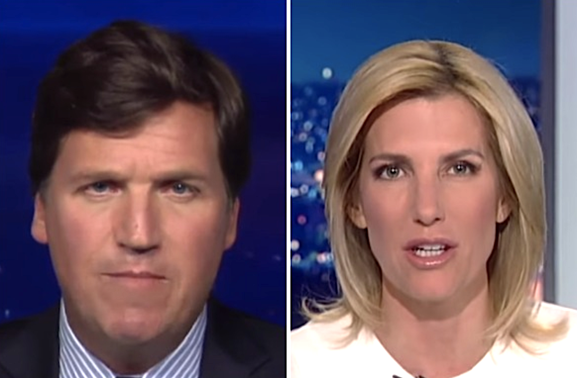 Bayer is withdrawing advertising from Tucker Carlson and Laura Ingraham's shows.