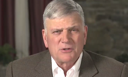 Franklin Graham praises Trump's order to US embassies not to fly the Pride flag