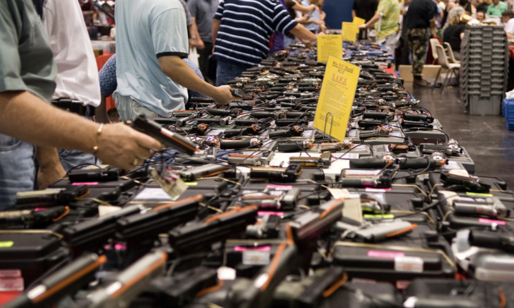 Gun dealer files for bankruptcy after stocking up in anticipation of Clinton victory.