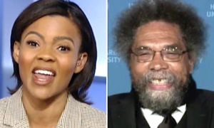 Candace Owens says blacks were better off in the first 100 years after slavery.