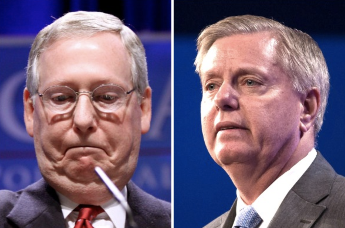 9/11 first responders call out Mitch McConnell and Lindsey Graham.