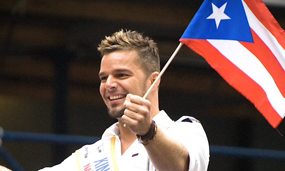 """Ricky Martin helps take Puerto Rican """"religious freedom"""" bill."""