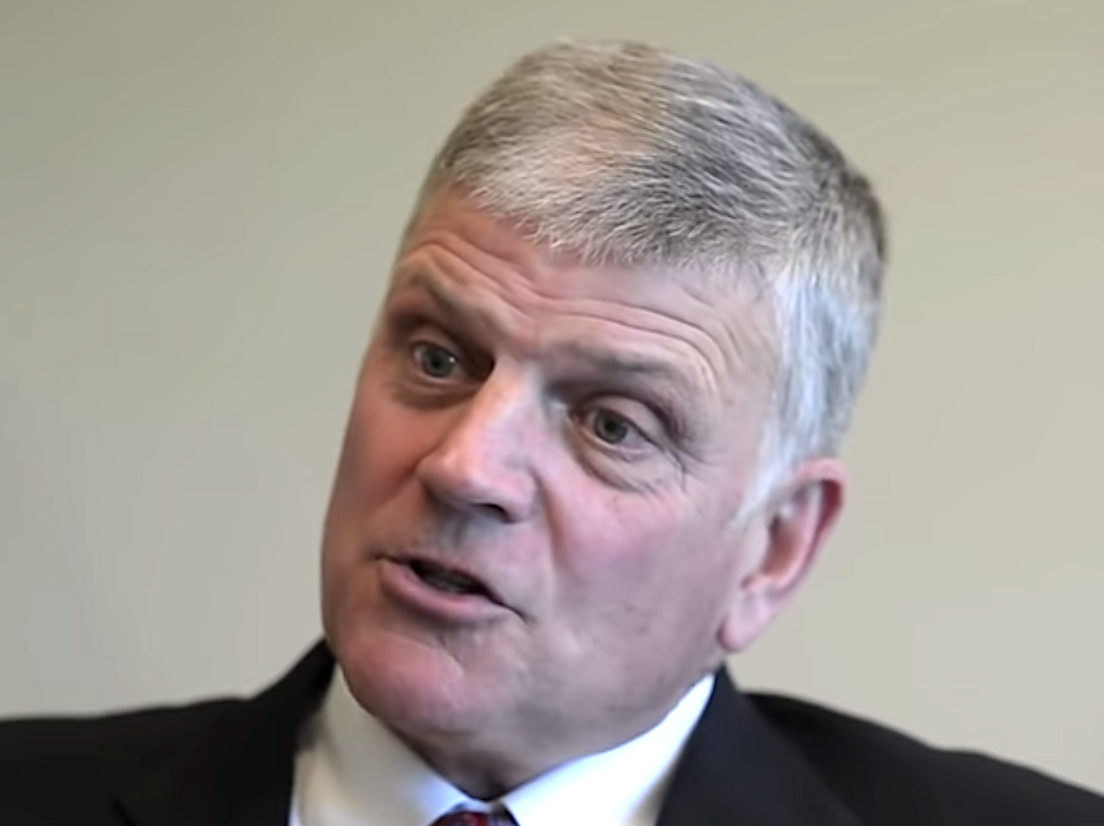 Franklin Graham says God was behind Trump's election