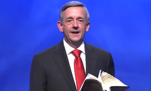 Robert Jeffress says Trump is the most Christian president in history.