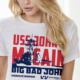 Veterans groups plan to hand out USS John McCain T-shirts during his July 4 speech.