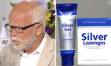 Jim Bakker is hawing his silver cure-all again.