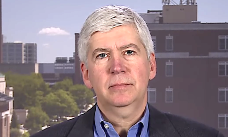 Rick Snyder is getting backlash for accepting a Harvard fellowship.