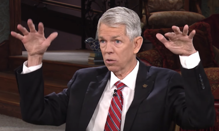David Barton has some scary views about the Second Amendment.
