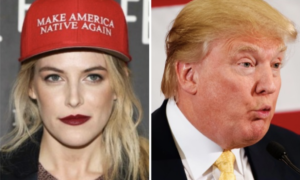 An artist is redesigning Trump's signature hat.