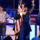 Christian preacher's flag-humping sermon is quite a thing to behold.