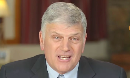 Franklin Graham really doesn't want the Equality Act to become law.