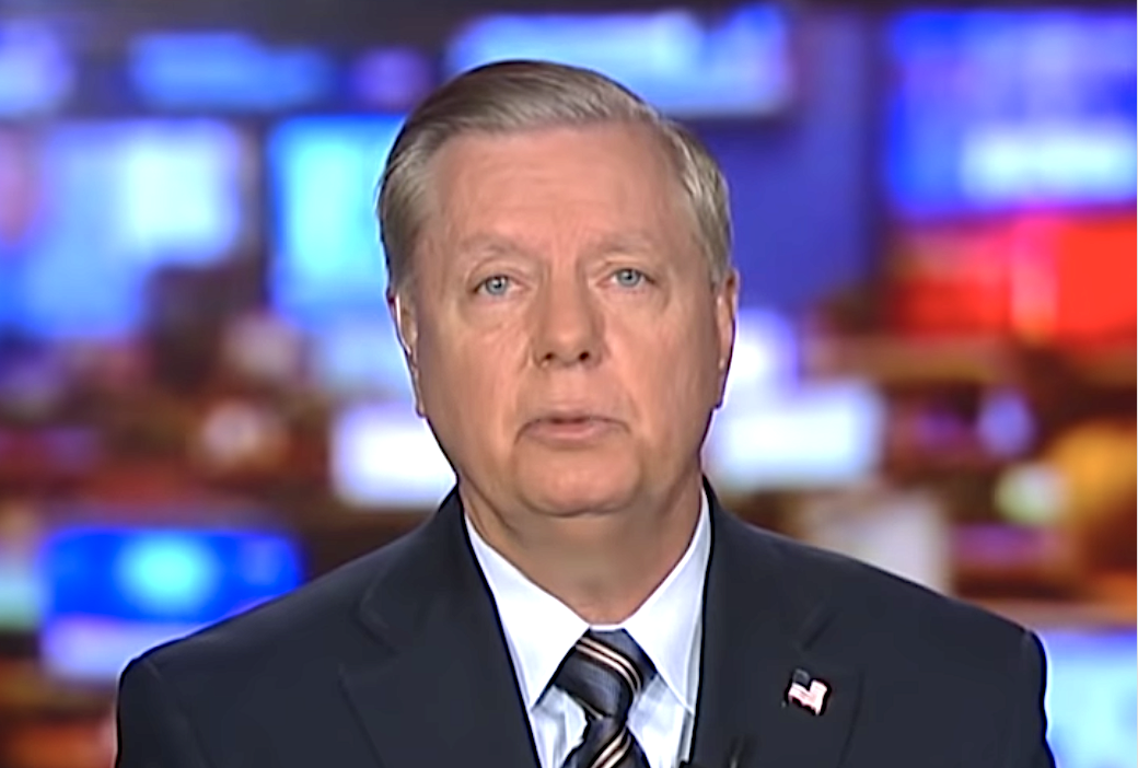 Lindsey Graham says Trump won't deport you, as long as you have the right politics.