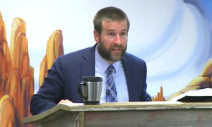 Pastor Steven Anderson just got banned from another country.