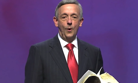 Robert Jeffress says Trump's border wall is a heavenly concept.