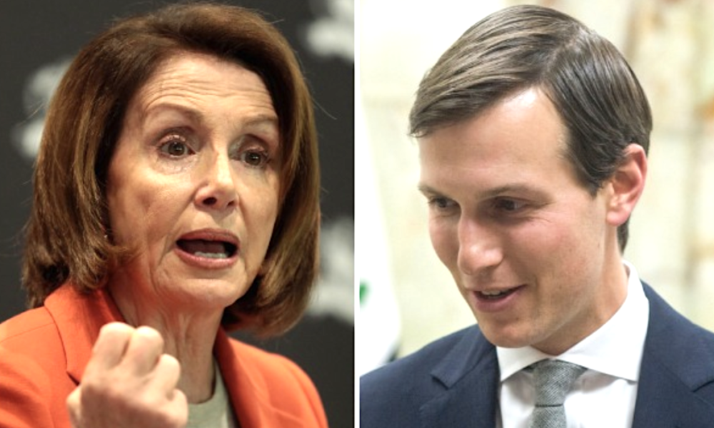 Pelosi went there with Kushner and his slumlord history.