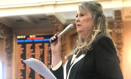 Ohio Rep. Candace Keller has some unique ideas about what caused the recent mass shootings.